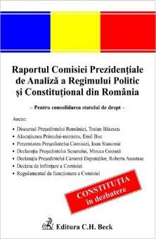 Imagine Raportul Comisiei Prezidentiale de Analiza a Regimului Politic si Constitutional din Romania