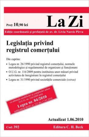 Imagine Legislatia privind registrul comertului