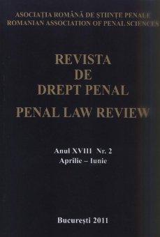 Imagine Revista de drept penal, Nr. 2/2011