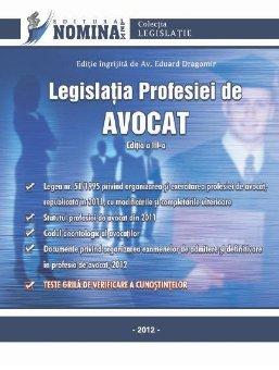 Imagine Legislatia Profesiei de Avocat