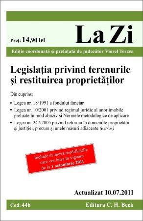 Imagine Legislatia privind terenurile si restituirea proprietatilor