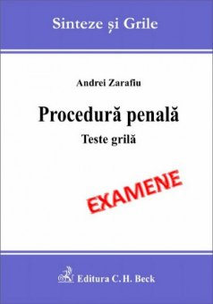 Imagine Procedura penala. Teste grila