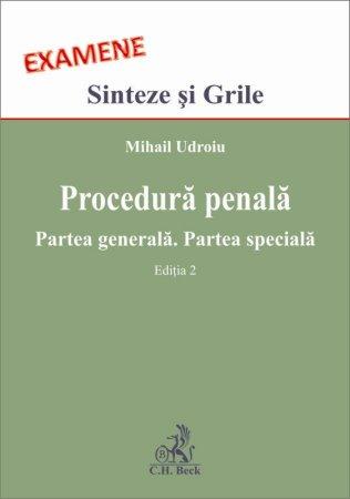 Imagine Procedura penala. Partea generala. Partea speciala