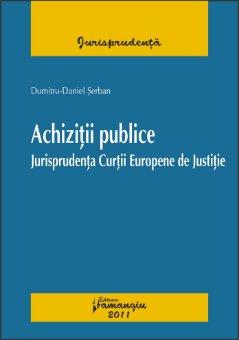 Imagine Achizitii publice Jurisprudenta Curtii Europene de Justitie