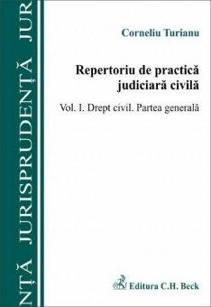 Imagine Repertoriu de practica judiciara in materie civila