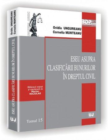 Imagine Eseu asupra clasificarii bunurilor in dreptul civil