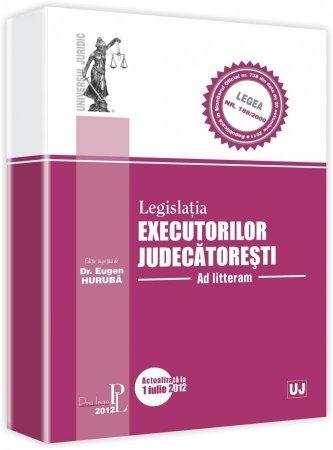 Imagine Legislatia executorilor judecatoresti