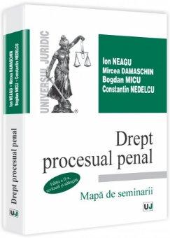 Imagine Drept procesual penal. Mapa de seminarii