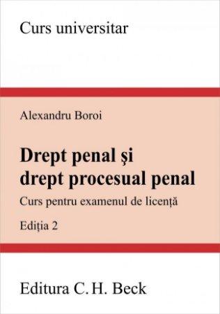 Imagine Drept penal si drept procesual penal. Curs pentru examenul de licenta
