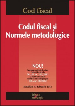 Imagine Codul fiscal si normele metodologice 13.02.2012