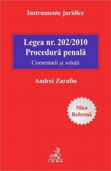 Imagine Legea 202/2010. Procedura penala