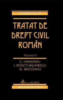 Imagine Tratat de drept civil roman. Volumul II