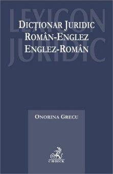 Imagine Dictionar juridic roman-englez, englez-roman