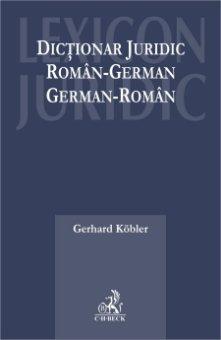 Imagine Dictionar juridic roman - german, german - roman