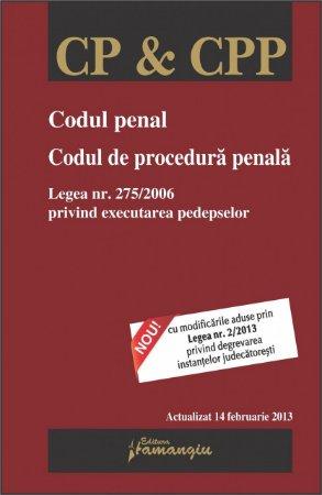 Imagine Codul penal. Codul de procedura penala 19.03.2013