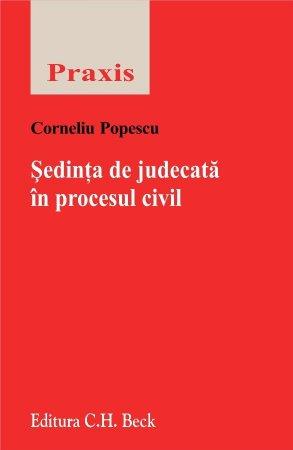Imagine Sedinta de judecata in procesul civil