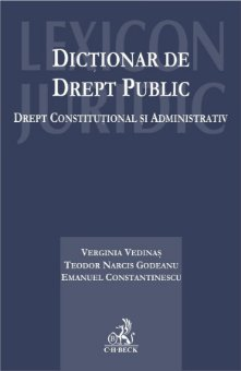 Imagine Dictionar de drept public. Drept constitutional si administrativ