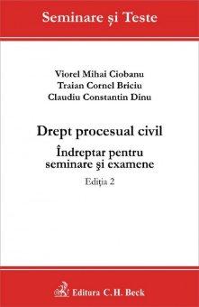 Imagine Drept procesual civil. Indreptar pentru seminare si examene