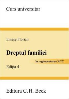 Imagine Dreptul familiei in reglementarea Noului Cod Civil
