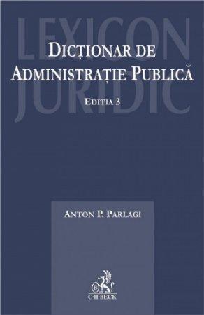 Imagine Dictionar de administratie publica