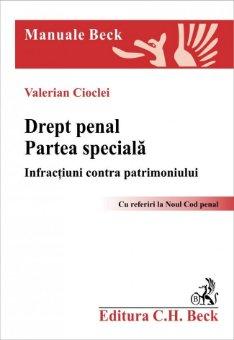 Imagine Drept penal. Partea speciala. Infractiuni contra patrimoniului