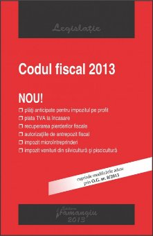 Imagine Codul fiscal 25.01.2013