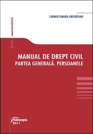 Imagine Manual de drept civil Partea Generala.Persoanele