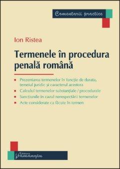 Imagine Termenele in procedura panala romana