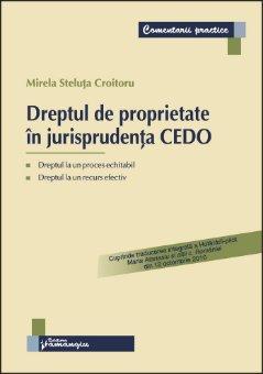 Imagine Dreptul de proprietate in jurisprudenta CEDO*