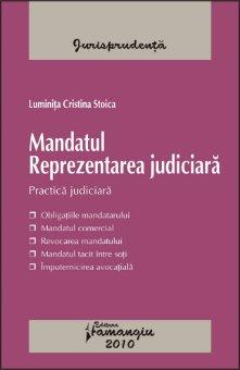 Imagine Mandatul. Reprezentarea judiciara