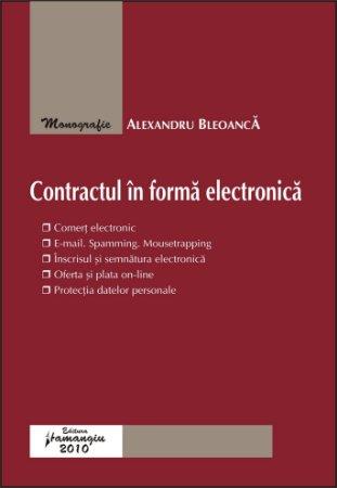 Imagine Contractul in forma electronica