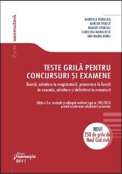 Imagine Teste grila pentru concursuri si examene ed 2