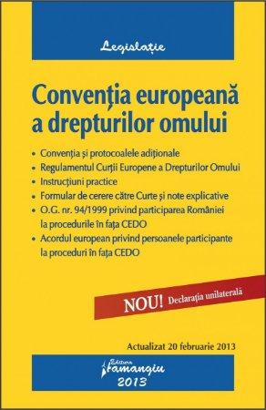Imagine Conventia europeana a drepturilor omului 20.02.2013