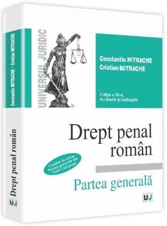 Imagine Drept penal roman. Partea generala - contine in extras Partea generala din Noul Cod penal