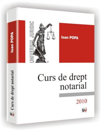 Imagine Curs de drept notarial