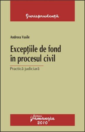 Imagine Exceptiile de fond in procesul civil