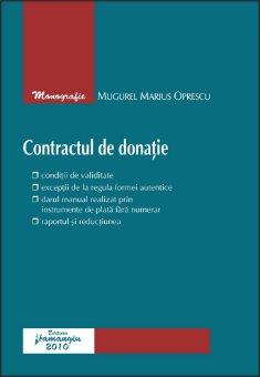 Imagine Contractul de donatie