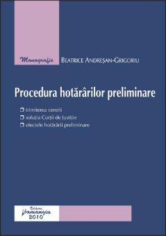 Imagine Procedura hotararilor preliminare