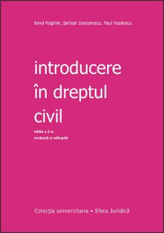 Imagine Introducere in dreptul civil ed. 2