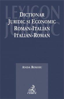 Imagine Dictionar juridic si economic roman-italian, italian-roman