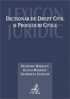 Imagine Dictionar de drept civil si proceduri civile