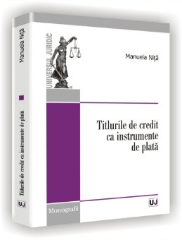 Imagine Titlurile de credit ca instrumente de plata