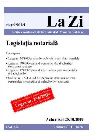 Imagine Legislatie notariala