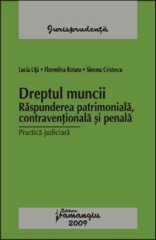 Imagine Dreptul muncii Raspunderea patrimoniala, contraventionala si penala