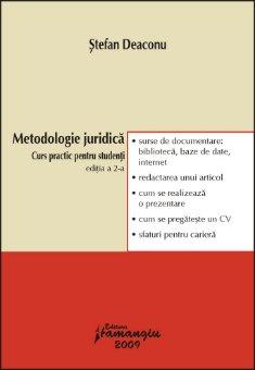 Imagine Metodologie juridica. Curs practic pentru studenti