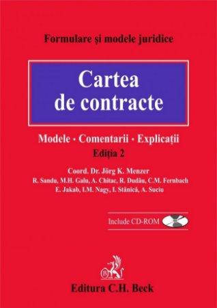 Imagine Cartea de contracte: modele, comentarii, explicatii