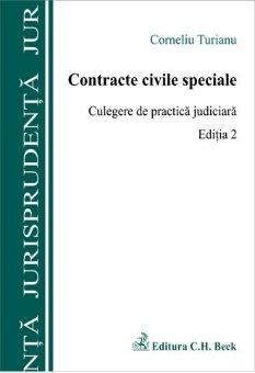 Imagine Contracte civile speciale. Culegere de practica judiciara