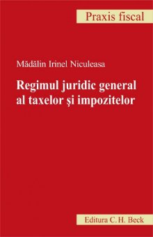 Imagine Regimul juridic general al taxelor si impozitelor