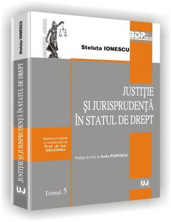 Imagine Justitie si jurisprudenta in statul de drept