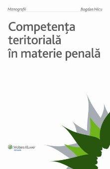 Imagine Competenta teritoriala in materie penala